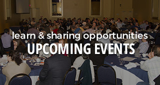 learn and sharing opportunities: upcoming events