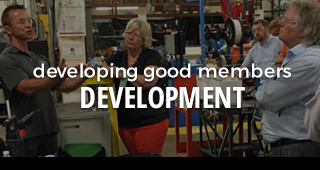 developing good members: development